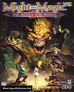 Might and Magic 7: For Blood and Honor Cover, Poster, Full Version, PC Game, Download Free
