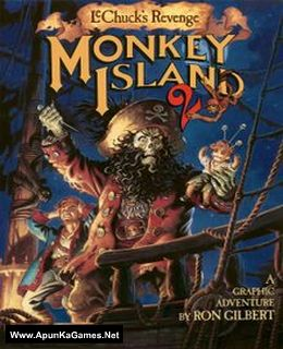 Monkey Island 2 Special Edition: LeChuck's Revenge Cover, Poster, Full Version, PC Game, Download Free