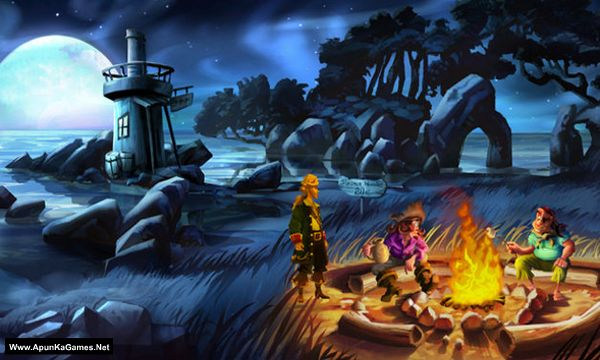 Monkey Island 2 Special Edition: LeChuck's Revenge Screenshot 1, Full Version, PC Game, Download Free
