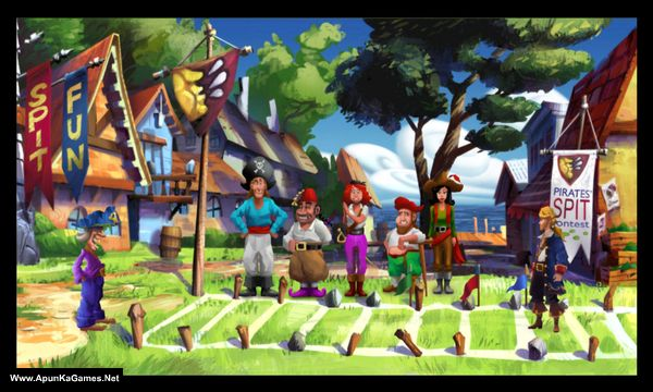 Monkey Island 2 Special Edition: LeChuck's Revenge Screenshot 2, Full Version, PC Game, Download Free
