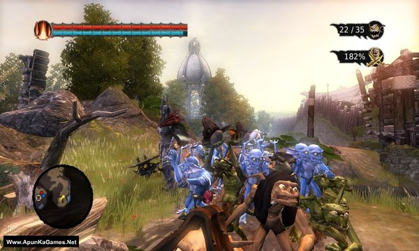 Overlord: Raising Hell Screenshot 3, Full Version, PC Game, Download Free