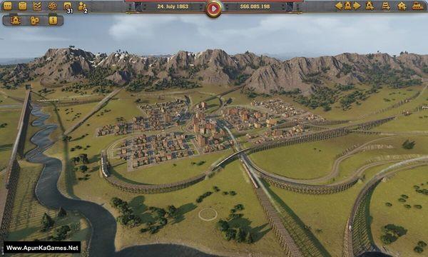 Railway Empire Screenshot 2, Full Version, PC Game, Download Free