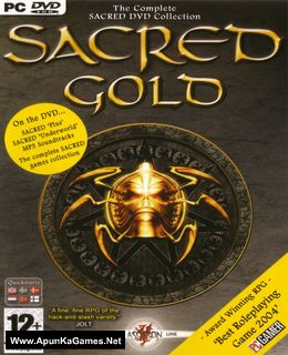 Sacred Gold Cover, Poster, Full Version, PC Game, Download Free