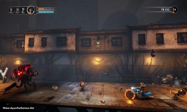 Steel Rats Screenshot 2, Full Version, PC Game, Download Free