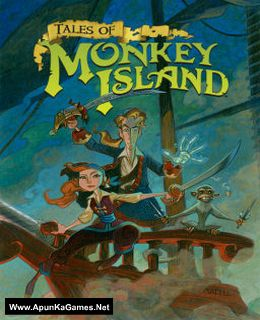 Tales of Monkey Island Cover, Poster, Full Version, PC Game, Download Free
