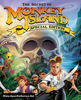 The Secret of Monkey Island: Special Edition Cover, Poster, Full Version, PC Game, Download Free