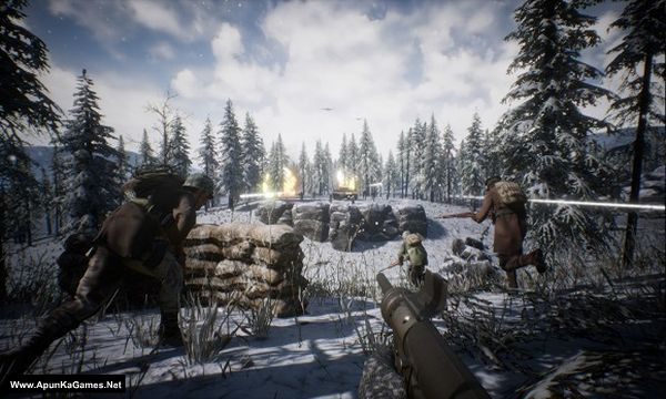 BattleRush: Ardennes Assault Screenshot 1, Full Version, PC Game, Download Free