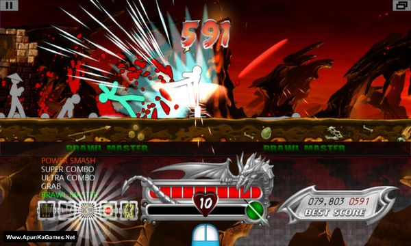 One Finger Death Punch Screenshot 2, Full Version, PC Game, Download Free