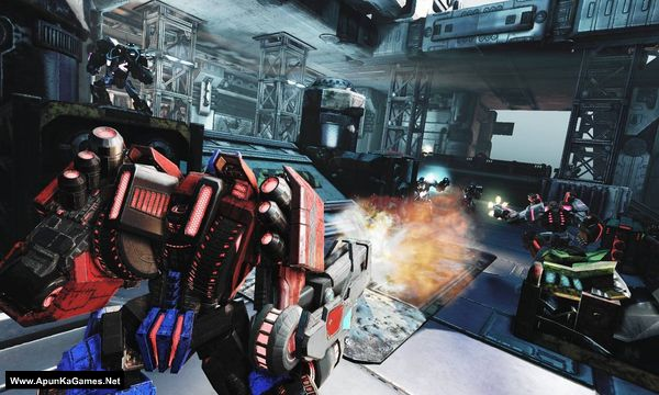 Transformers: Fall of Cybertron Screenshot 1, Full Version, PC Game, Download Free