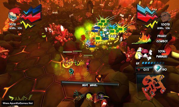 ZAMB! Endless Extermination Screenshot 1, Full Version, PC Game, Download Free