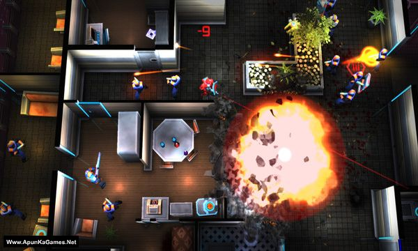 Neon Chrome Screenshot 1, Full Version, PC Game, Download Free