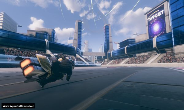 V-Racer Hoverbike Screenshot 1, Full Version, PC Game, Download Free