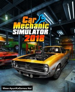 Car Mechanic Simulator 2018 Cover, Poster, Full Version, PC Game, Download Free
