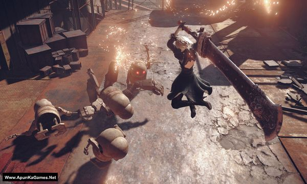 NieR: Automata Screenshot 1, Full Version, PC Game, Download Free