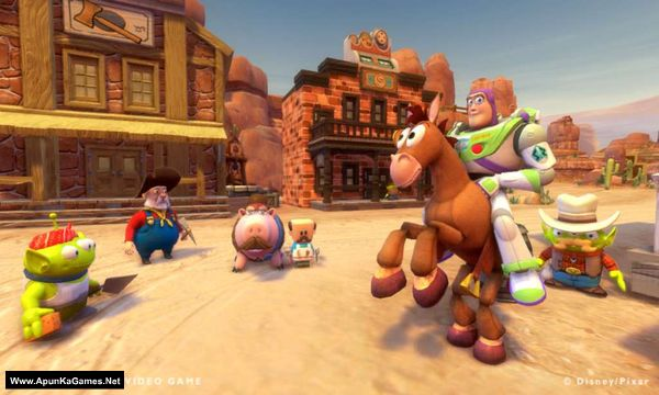 Toy Story 3: The Video Game Screenshot 1, Full Version, PC Game, Download Free