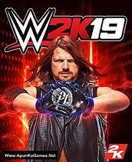 WWE 2K19 Cover, Poster, Full Version, PC Game, Download Free