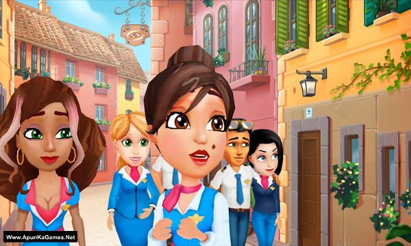 Amber's Airline - 7 Wonders Screenshot 1, Full Version, PC Game, Download Free