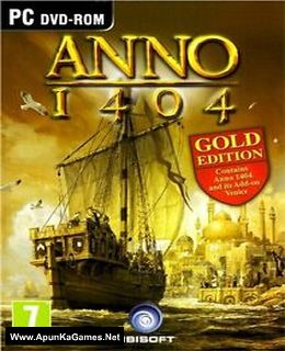 Anno 1404: Gold Edition Cover, Poster, Full Version, PC Game, Download Free