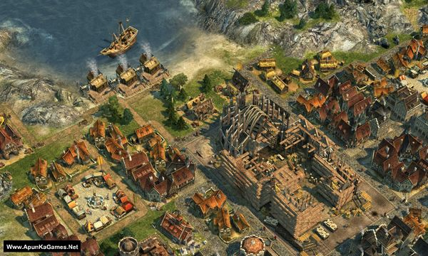 Anno 1404: Gold Edition Screenshot 1, Full Version, PC Game, Download Free