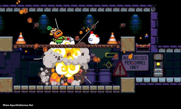 Bomb Chicken Screenshot 2, Full Version, PC Game, Download Free
