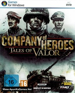 Company of Heroes: Tales of Valor Cover, Poster, Full Version, PC Game, Download Free