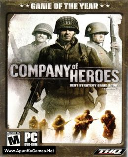 Company of Heroes 1 Cover, Poster, Full Version, PC Game, Download Free