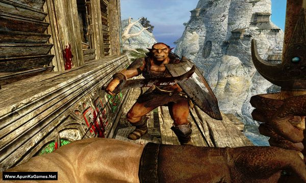 Dark Messiah of Might and Magic Screenshot 1, Full Version, PC Game, Download Free