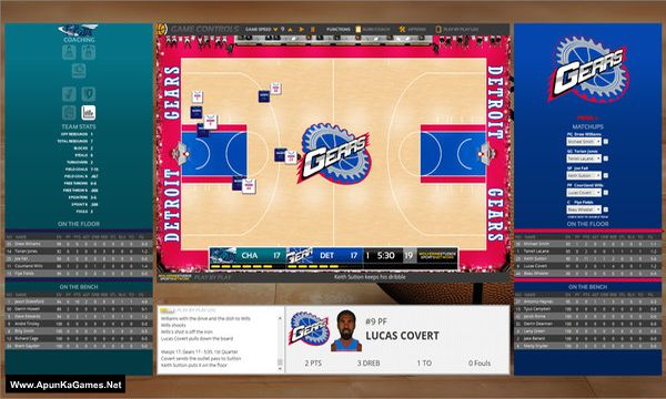 Draft Day Sports: Pro Basketball 2019 Screenshot 2, Full Version, PC Game, Download Free