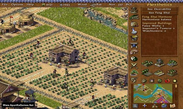 Emperor: Rise of the Middle Kingdom Screenshot 1, Full Version, PC Game, Download Free