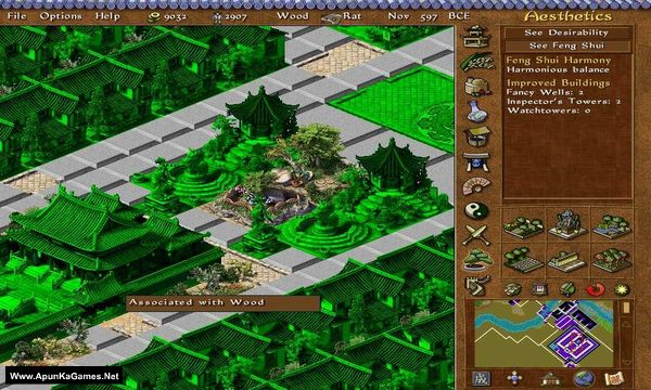 Emperor: Rise of the Middle Kingdom Screenshot 2, Full Version, PC Game, Download Free