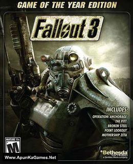 Fallout 3: Game of the Year Edition Cover, Poster, Full Version, PC Game, Download Free