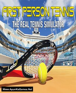 First Person Tennis - The Real Tennis Simulator Cover, Poster, Full Version, PC Game, Download Free