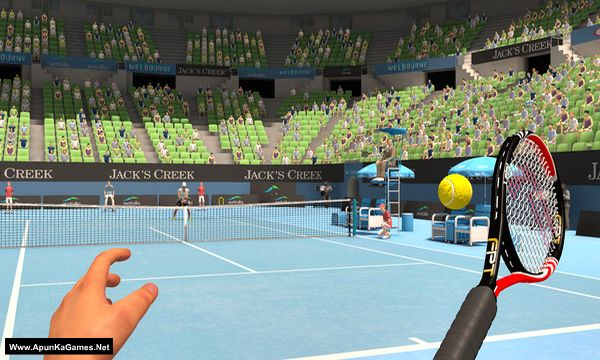 First Person Tennis - The Real Tennis Simulator Screenshot 1, Full Version, PC Game, Download Free
