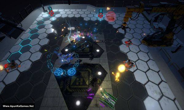 Hovership Havoc Screenshot 1, Full Version, PC Game, Download Free