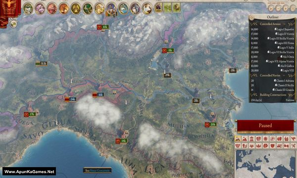 Imperator: Rome Screenshot 1, Full Version, PC Game, Download Free