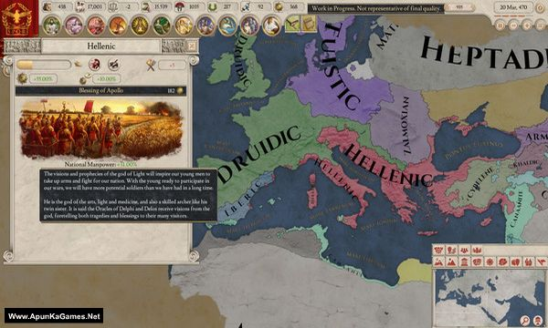 Imperator: Rome Screenshot 2, Full Version, PC Game, Download Free