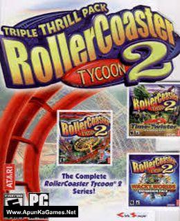 RollerCoaster Tycoon 2: Triple Thrill Pack - TipTop Gamer