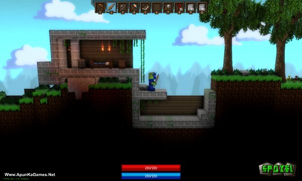 Spoxel Screenshot 1, Full Version, PC Game, Download Free