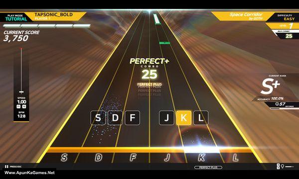 Tapsonic Bold Screenshot 1, Full Version, PC Game, Download Free