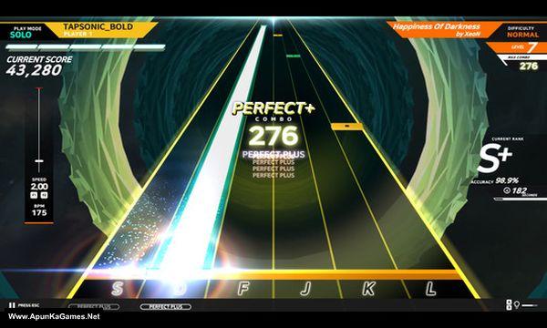 Tapsonic Bold Screenshot 2, Full Version, PC Game, Download Free