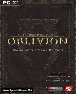The Elder Scrolls IV: Oblivion GOTY Cover, Poster, Full Version, PC Game, Download Free