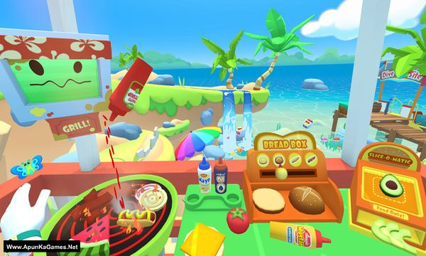 Vacation Simulator Screenshot 1, Full Version, PC Game, Download Free