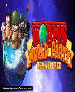Worms World Party Remastered Cover, Poster, Full Version, PC Game, Download Free