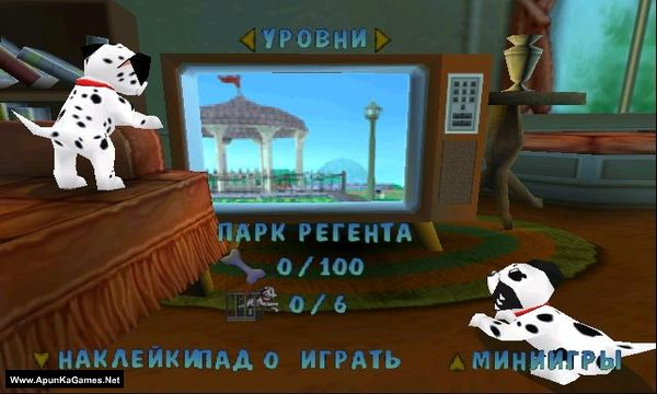 Disney's 102 Dalmatians: Puppies to the Rescue Screenshot 1, Full Version, PC Game, Download Free