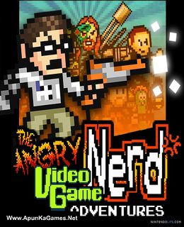 Angry Video Game Nerd Adventures Cover, Poster, Full Version, PC Game, Download Free