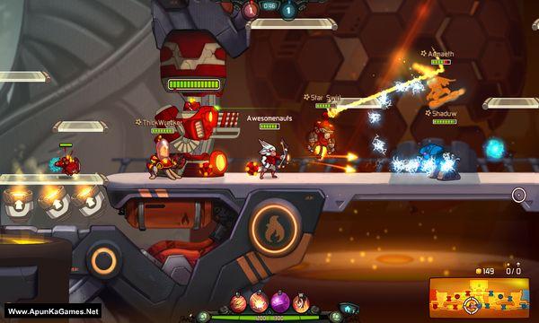 Awesomenauts Screenshot 1, Full Version, PC Game, Download Free
