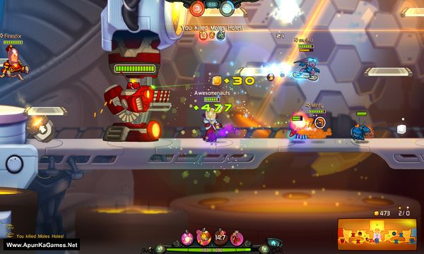 Awesomenauts Screenshot 2, Full Version, PC Game, Download Free