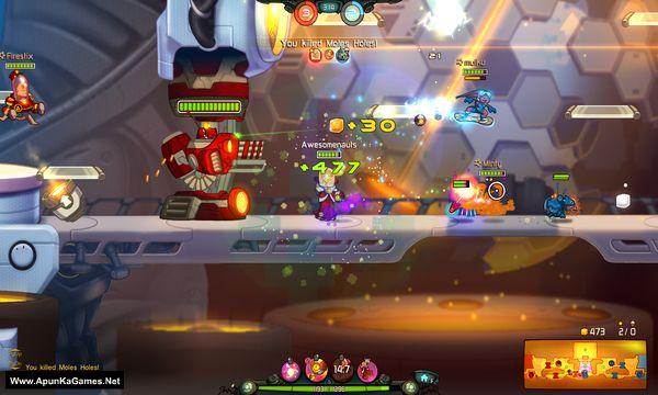 Awesomenauts Screenshot 2, Full Version, PC Game, Download Free