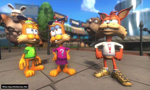 Bubsy: Paws on Fire! Screenshot 3, Full Version, PC Game, Download Free