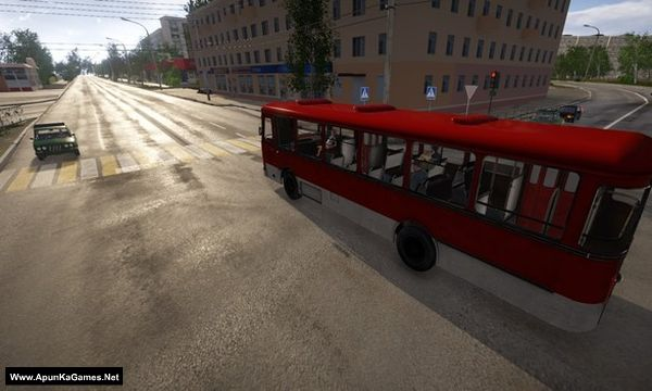 Bus Driver Simulator 2019 Screenshot 1, Full Version, PC Game, Download Free